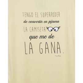 CAMISETA TENGO EL SUPER PODER