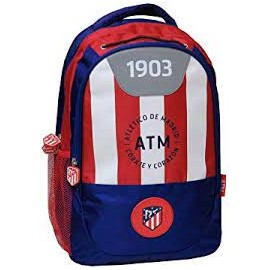 Mochila grande 42cm adaptable a carro de Atletico De Madrid