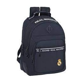 Mochila 42cm doble adaptable a carro de Real Madrid